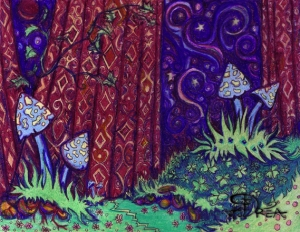 mushroomforestDrawing
