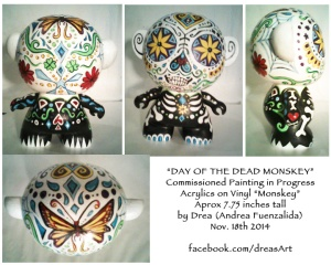 Day of The Dead Monskey